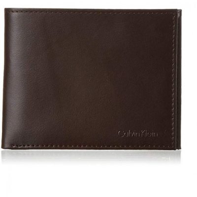 7b1ee182a67c9 Calvin Klein Men s RFID Blocking Leather Bifold Wallet with Key Fob 79370